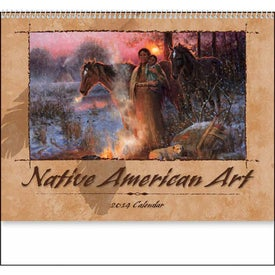 Custom Native American Art Appointment Calendar