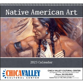 Company Native American Art Appointment Calendar