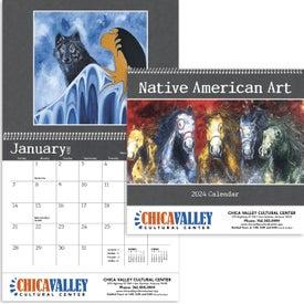 Company Native American Art Appointment Calendar