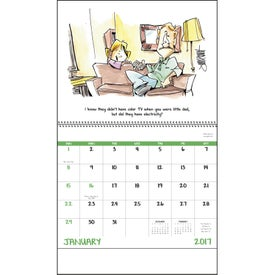 Laughing It Up! Spiral Calendar for Your Church