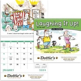 Custom Laughing It Up! Spiral Calendar