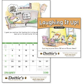 Laughing It Up! Stapled Calendar for your School