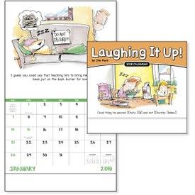 Custom Never A Dull Moment Stapled Calendar