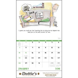 Laughing It Up! Stapled Calendar for Your Church