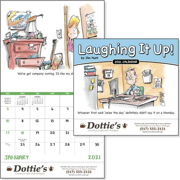 See Item Laughing It Up! Calendar