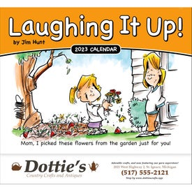 Laughing It Up! Stapled Calendar (2017)