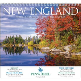 New England Appointment Calendar (2017)