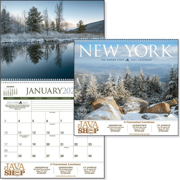 See Item New York Appointment Calendar