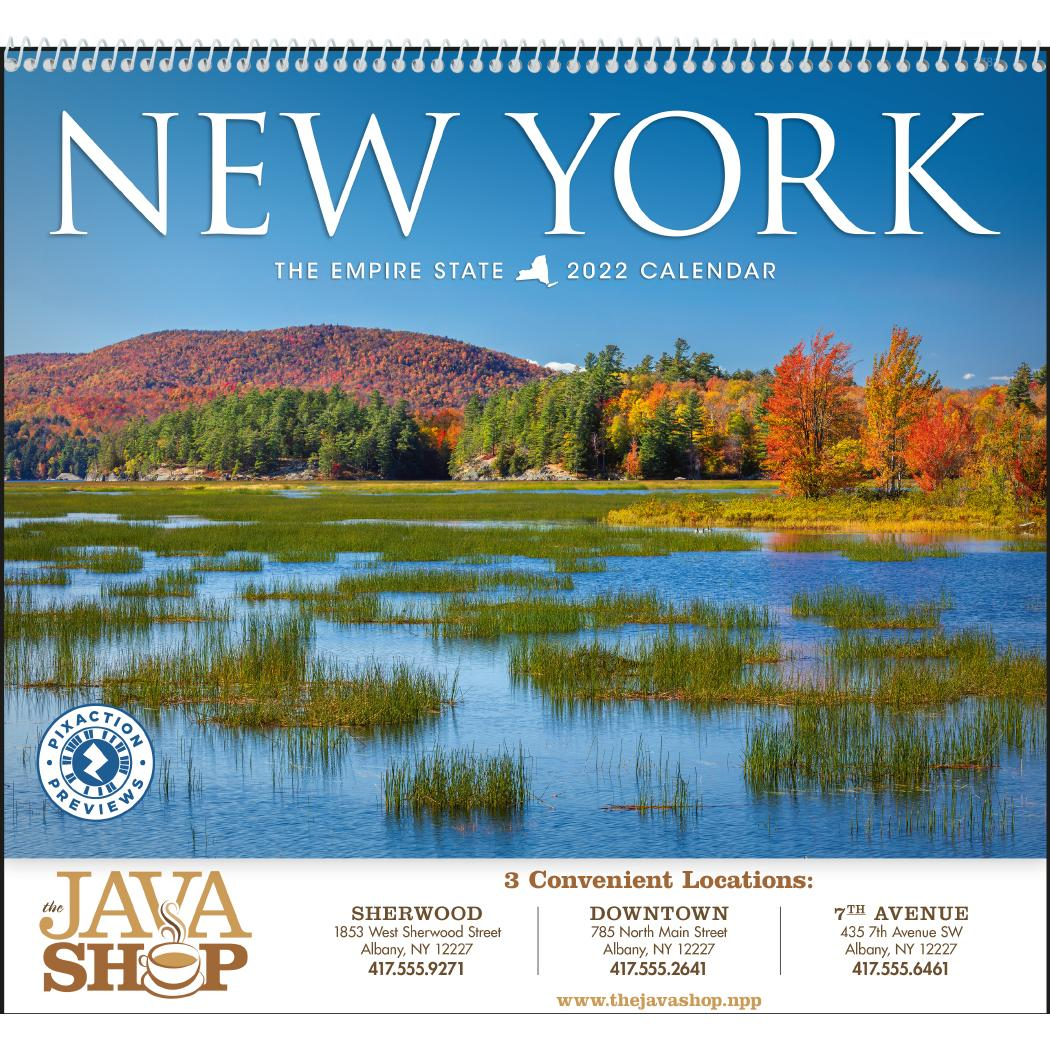 Promotional 2020 New York Appointment Calendars With Custom Logo For