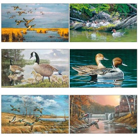 North American Waterfowl Executive Calendar with Your Slogan