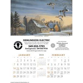 North American Waterfowl Executive Calendar (2020)