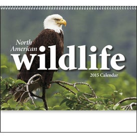Promotional North American Wildlife Wall Calendar