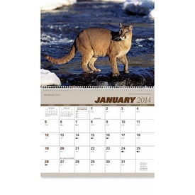 Printed North American Wildlife Wall Calendar