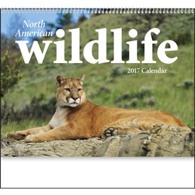 North American Wildlife Wall Calendar for your School