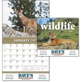 Printed North American Wildlife Wall Calendar