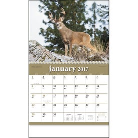 North American Wildlife Wall Calendar with Your Slogan