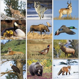 North American Wildlife Wall Calendar with Your Logo