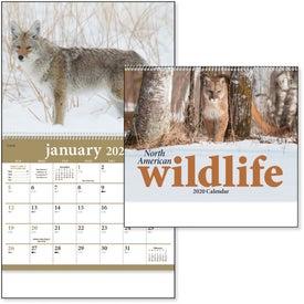 North American Wildlife Wall Calendar (2020)