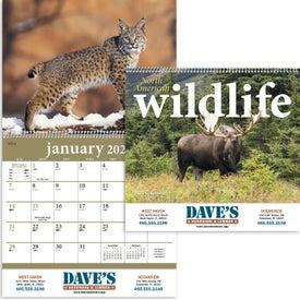 North American Wildlife Wall Calendar (2017)