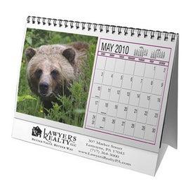 North American Wildlife Desktop Flip Calendar