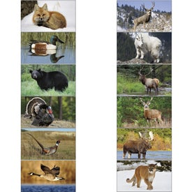 North American Wildlife Executive Calendar for Marketing