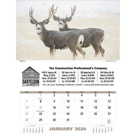 Advertising North American Wildlife Executive Calendar