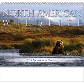 Promotional North American Wildlife Spiral Bound Calendar