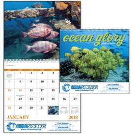 Ocean Glory Spiral Calendar for Your Church