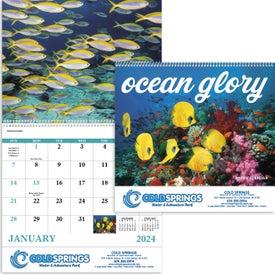 Customized Ocean Glory Spiral Calendar