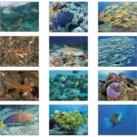 Custom Ocean Glory Stapled Calendar