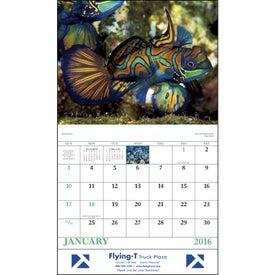 Logo Ocean Glory Stapled Calendar