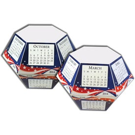 Stars and Stripes Pop-Ups Calendar for Your Organization