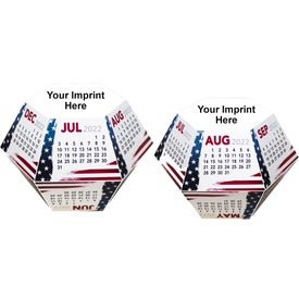Stars and Stripes Pop-Ups Calendar for Your Church