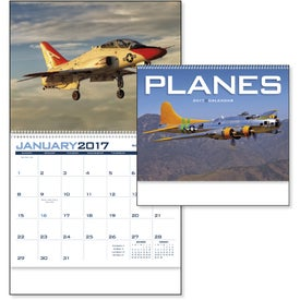 Planes Appointment Calendar Printed with Your Logo