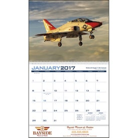 Customized Planes Appointment Calendar