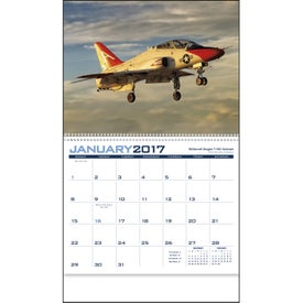 Promotional Planes Appointment Calendar