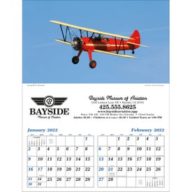 Imprinted Planes - Executive Calendar