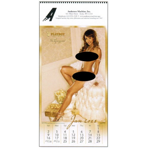 "Custom Calendars » Playboy's Playmate Calendar (9"" x 19"", 2015)"
