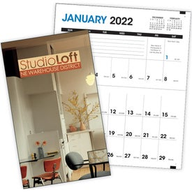 Pocket Planner with Custom Cover Calendar for Marketing