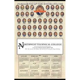 Presidents Hanger Calendar (Annual Year-In-One, 2020)