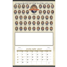 Presidents Hanger Calendar for your School