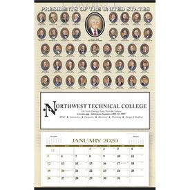 Presidents Hanger Calendar (Annual 12-Sheet, 2020)
