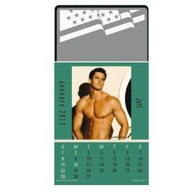 Press N Stick Male Call Calendar Pad Giveaways
