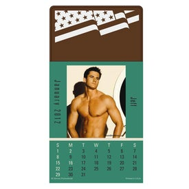 Company Press N Stick Male Call Calendar Pad