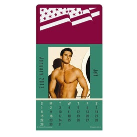 Press N Stick Male Call Calendar Pad for Promotion