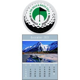 Press N Stick Supersize Scenic Calendar for Your Organization