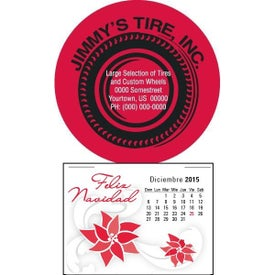 Advertising Press N Stick Supersize Spanish Calendar