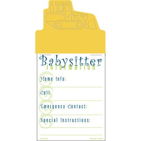 Press-N-Stick - Babysitter List