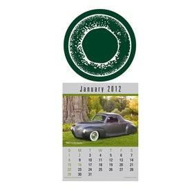 Press N Stick Supersize Cruisin Cars Calendar with Your Slogan