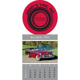 Press N Stick Supersize Cruisin Cars Calendar
